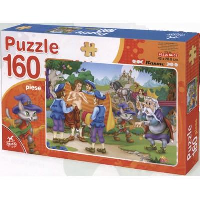Puzzle Dtoys-61515-BA-01 Der gestiefelte Kater