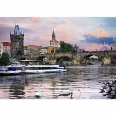 Puzzle DToys-62154-EC15 Tschechien - Prag