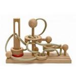 Dtoys-62369-02 Chinesisches Holzpuzzle - IQ Games - Expert 2 - Schwierigkeit 4/5
