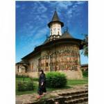 Puzzle  DToys-63038-MN03 Rumänien: Sucevita Kloster