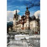 Puzzle  DToys-63038-MN08 Rumänien: Schloss Peles