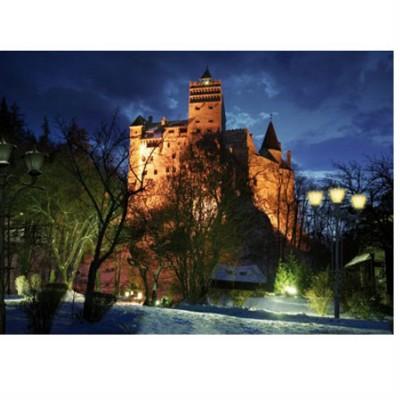 Puzzle DToys-63038-MN09 Rumänien: Schloss Bran