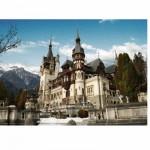 Puzzle  DToys-63052-RM01 Rumänien: Schloss Peles