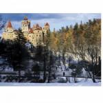 Puzzle  DToys-63052-RM05 Rumänien: Schloss Bran
