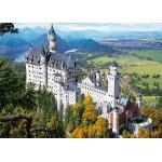 Puzzle  DToys-64288-FP02 Deutschland: Schloss Neuschwanstein