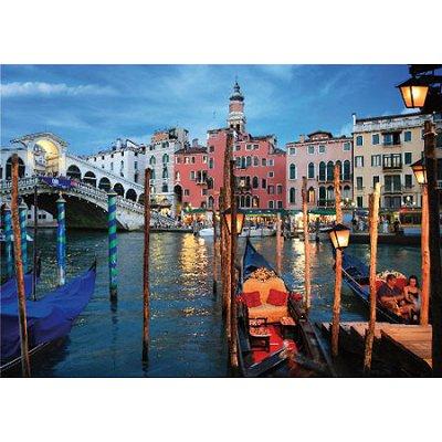 Puzzle DToys-64301-NL04 Bei Nacht - Italien: Venedig