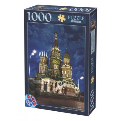 Puzzle Dtoys-64301-NL10 Basiliuskathedrale, Moskau