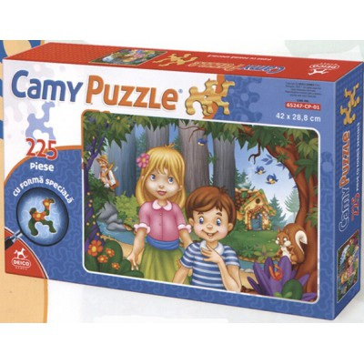 Dtoys-65247-CP-01 Hänsel und Gretel: Puzzle mit schwierig zu legenden Teilen