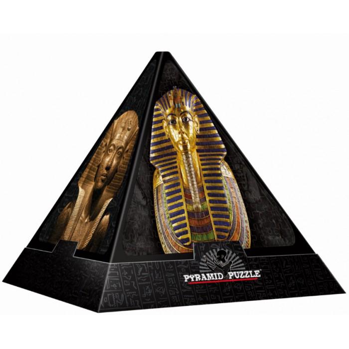 3D Pyramide - Ägypten: Masken / schwieriges Puzzle
