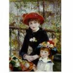 Puzzle  DToys-66909-RE01 Renoir: Auf der Terrasse