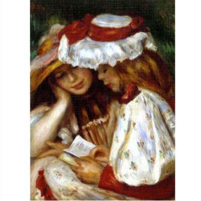 Puzzle DToys-66909-RE02 Renoir: Zwei lesende Mädchen