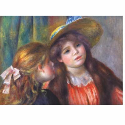 Puzzle DToys-66909-RE08X Renoir: Deux jeunes filles lisant