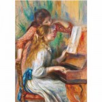 Puzzle  DToys-66909-RE09 Renoir: Jeunes filles au piano