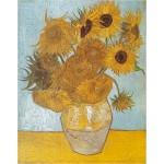 Puzzle  DToys-66916-VG01 Van Gogh: Sonnenblumen