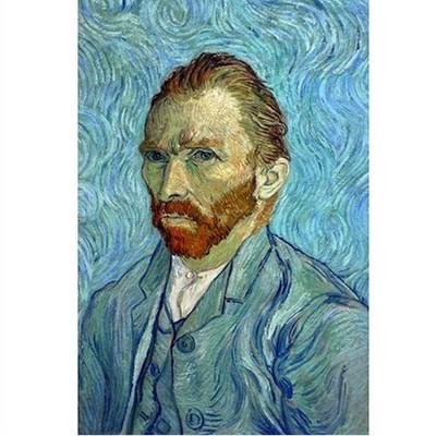 Puzzle DToys-66916-VG05 Van Gogh: Autoportrait