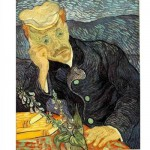 Puzzle  DToys-66916-VG06 Van Gogh: Portrait des Dr. Gachet