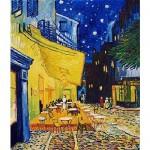 Puzzle  DToys-66916-VG09 Van Gogh: Caféterrasse am Abend