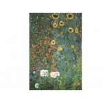 Puzzle  Dtoys-66923-KL-08 Gustav Klimt: Bauerngarten mit Sonnenblumen