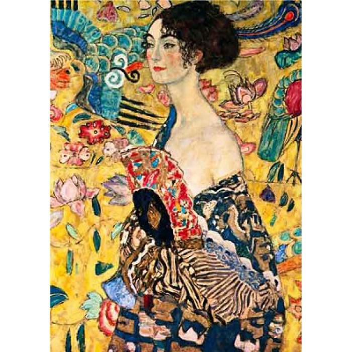 Gustav Klimt: Frau mit Fächer