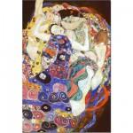 Puzzle  DToys-66923-KL05 Gustav Klimt: Die Jungfrau