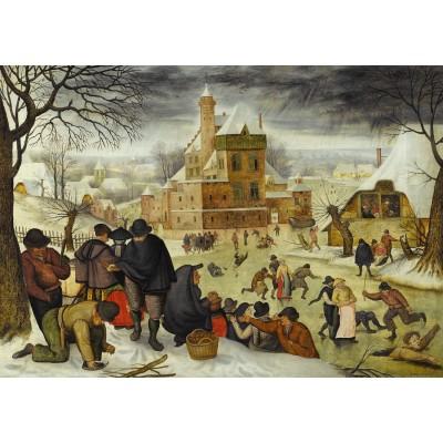 Puzzle DToys-66947-BR04 Brueghel: Winter