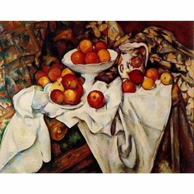 Puzzle DToys-66961-IM04 Cézanne: Äpfel und Orangen