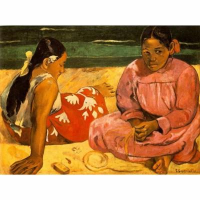 Puzzle DToys-66961-IM05 Gauguin: Frauen am Strand