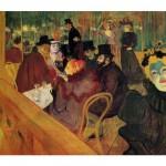 DToys-66978-TL02 Toulouse-Lautrec: Im Moulin Rouge / schwieriges Puzzle