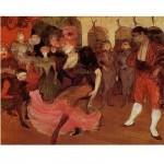 DToys-66978-TL03 Toulouse-Lautrec: Marcelle Lender dansant le boléro dans Chilperic / schwieriges Puzzle