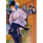 DToys-66978-TL04 Toulouse-Lautrec: Jane Avril dansant / schwieriges Puzzle