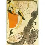 DToys-66978-TL06 Toulouse-Lautrec: Jane Avril, Poster / schwieriges Puzzle