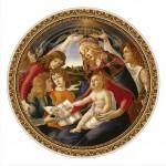 Puzzle  DToys-66985-TM02 Botticelli: Madonna del Magnifica