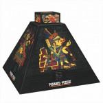 DToys-66992-PP01 3D Pyramide - Ägypten: Prekolumbianische Kunst 1 / schwieriges Puzzle