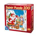 Puzzle  Dtoys-67333-XM-02 Ein Lied für den Weihnachtsmann