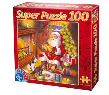 Puzzle Dtoys-67333-XM-04 Der Weihnachtsmann musiziert