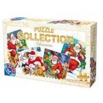 Puzzle  Dtoys-67340-XM-02 Der Weihnachtsmann verteilt Geschenke