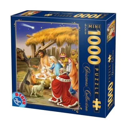 Puzzle DToys-67371CM02 Mini-Teile - Christmas Collection: Die Geburt