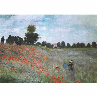 Puzzle DToys-67548-CM01 Monet: Das Mohnfeld