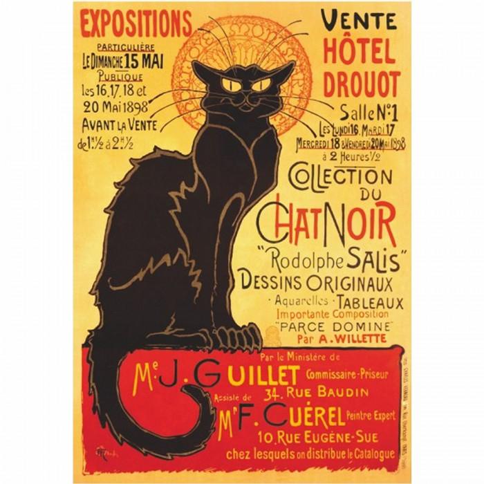 Vintage Posters: Plakat Hotel Drouot Auktion