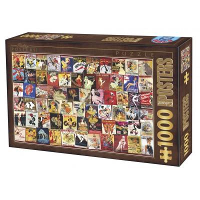 Puzzle Dtoys-67555-VP12 Vintage Collection - Cabaret