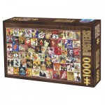 Puzzle  Dtoys-67555-VP12 Vintage Collection - Cabaret
