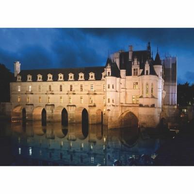 Puzzle DToys-67562-FC03 Französisches Schloss: Château de Chenonceau