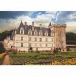 Puzzle  DToys-67562-FC04 Französisches Schloss: Château de Villandry