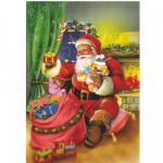 Puzzle  DToys-67623-CH04 Christmas Collection: Die schönen Spielsachen