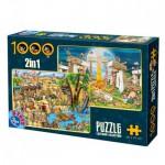 Puzzle  Dtoys-67760-CC-02 Humor: Dolmen