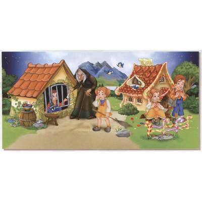 Dtoys-67814-GP-03 3D Globus Puzzle - Hänsel und Gretel