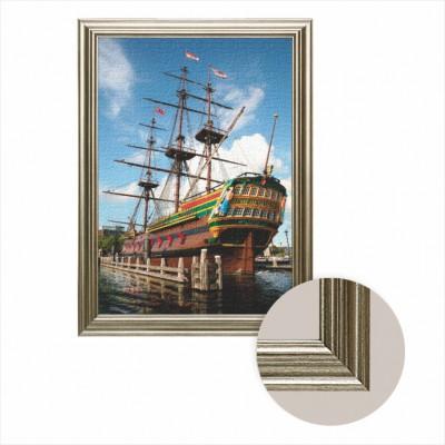 Puzzle Dtoys-68217-AP-01 Leinwand mit Rahmen - Amsterdam: Schifffahrtmuseum