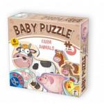 Dtoys-71262-BP-01 6 Puzzles - Tierkinder auf dem Bauernhof