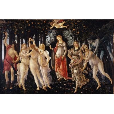 Puzzle Dtoys-72672-BO-02 Sandro Botticelli: La Primavera