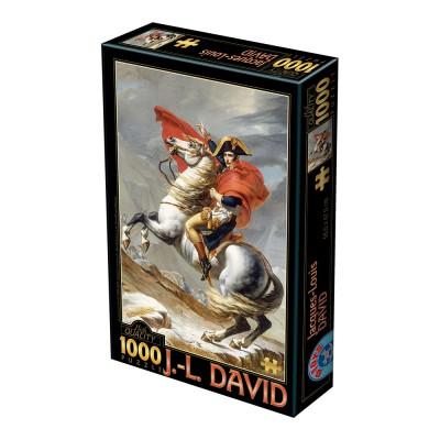 Puzzle Dtoys-72719-DA-01 David Jacques-Louis : Napoleon Bonaparte überschreitet die Alpen